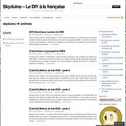 tutoriel « Skyduino – Le DIY à la française