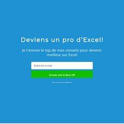 Tutoriel: le tableau croisé dynamique sur Excel