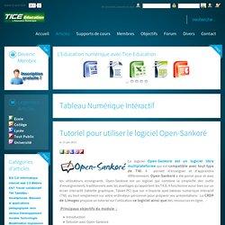 Tutoriel pour utiliser le logiciel Open-Sankoré