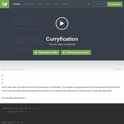 Tutoriel Vidéo Curryfication