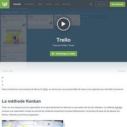 Tutoriel Vidéo Trello
