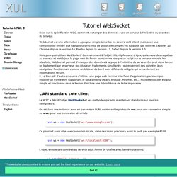 Tutoriel WebSocket