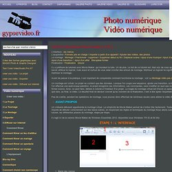 Tutoriel Windows Live Movie Maker