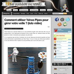 Tutoriel yahoo pipes
