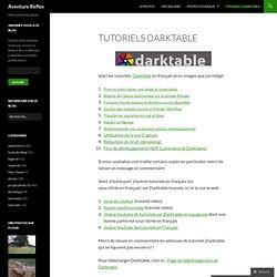 Tutoriels Darktable