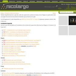 Nagios: Tutoriels et documentations