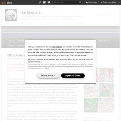 500 tutoriels pour GIMP en français