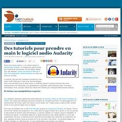 Des tutoriels pour prendre en main le logiciel audio Audacity