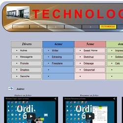 TUTORIELS / TECHNOLOGIE COLLEGE QUIGNON