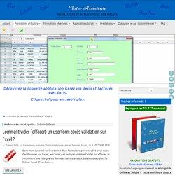 Tutoriels vidéos gratuits sur Excel