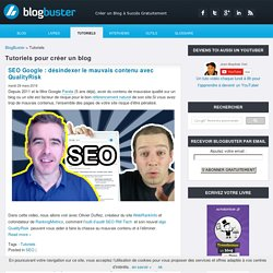 Tutoriels Wordpress et Blogging - BlogBuster