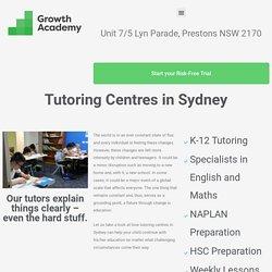 tutoring centres in sydney
