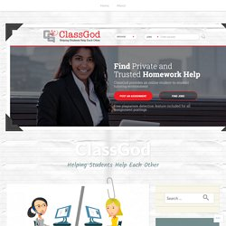 Online Tutoring – How does it help in managing school work and homework? – ClassGod