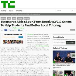 Tutorspree Adds $800K From Resolute.VC & Others To Help Students Find Better Local Tutoring