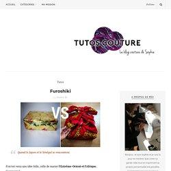 Tutos Couture - Furoshiki-Tutos couture