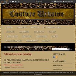 les tutos - Couture Urbaine le blog, L' officiel