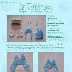 Le Tutotoro - un doudou-totoro-à-réaliser-soi-même