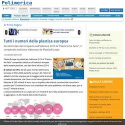 Tutti i numeri della plastica europea