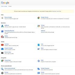 Tutto su Google - Prodotti