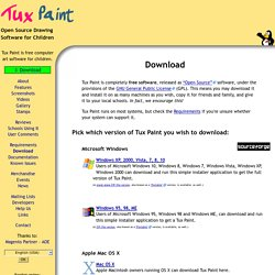 Tux Paint - Download