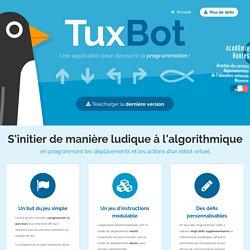 TuxBot - Appli pour coder les déplacements d'un pingouin