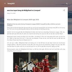 xem truc tuyen bong da Midtjylland vs Liverpool