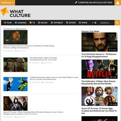 TV Features - WhatCulture.com
