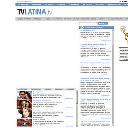 TV Latina - Home