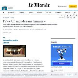 TV – «Un monde sans femmes»