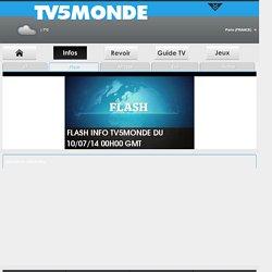 TV5Monde - Infos Flash