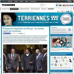 Polygamie légalisée au Kenya : le monde selon les hommes
