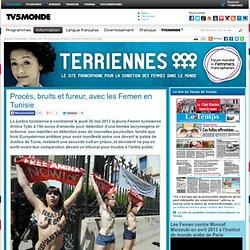 Procès, bruits et fureur, avec les Femen en Tunisie
