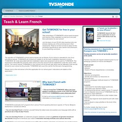 MONDE : Teach & Learn French