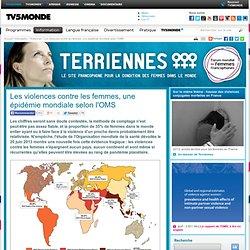 Les violences contre les femmes, une épidémie mondiale selon l'OMS