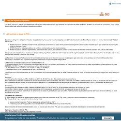 TVA : les régimes d'imposition