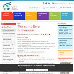 TVA sur le livre numérique