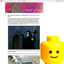 twee affect: July 2010