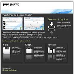 The Archivist Desktop By Mix Online