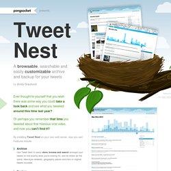 Tweet Nest