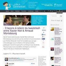 3 leçons à retenir du tweetclash entre Xavier Niel & Arnaud Montebourg