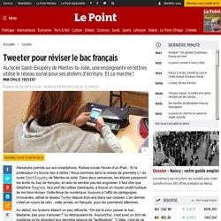 Tweeter pour réviser le bac français