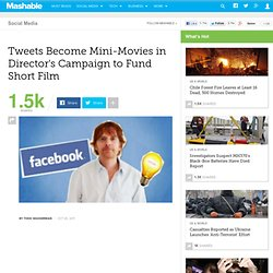 Dutch Director Funds Film by Making Fans' Tweets Into Mini-Movies