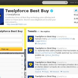 Twelpforce Best Buy (twelpforce) on Twitter