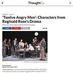 'Twelve Angry Men': Meet the Characters of the Drama