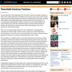 Twentieth-Century Fashion