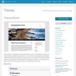 TwentyEleven Theme