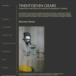 twentysevengears home