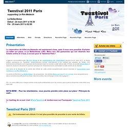 Twestival 2011 Paris Paris