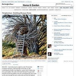 Twigitecture: Building Human Nests
