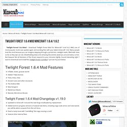 Twilight Forest 1.2.5 Mod Minecraft 1.2.5